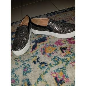 Mossimo Glitter Chunky Sneakers Size 9